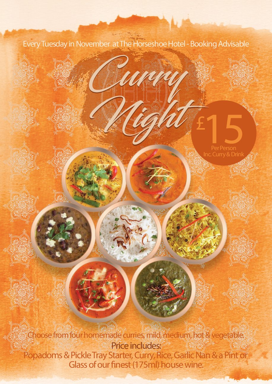 Curry Night – November 2017